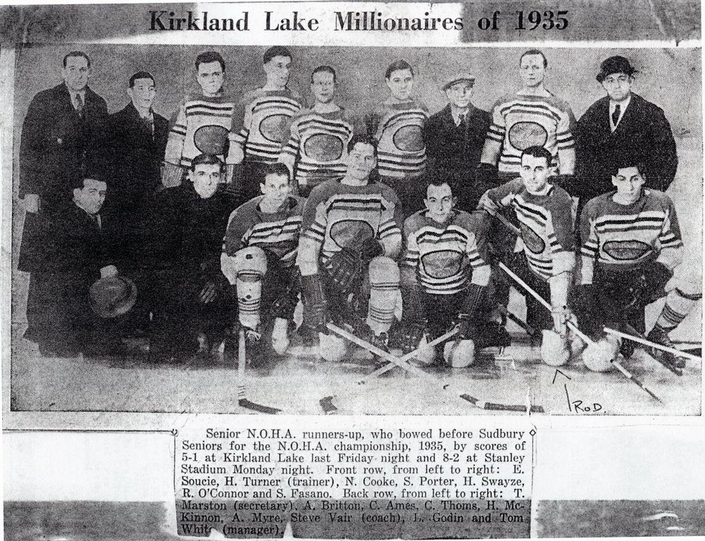 1934-35 Northern Ontario Senior Playoffs