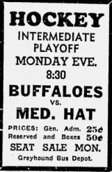 1942-43 Alberta Intermediate Playoffs