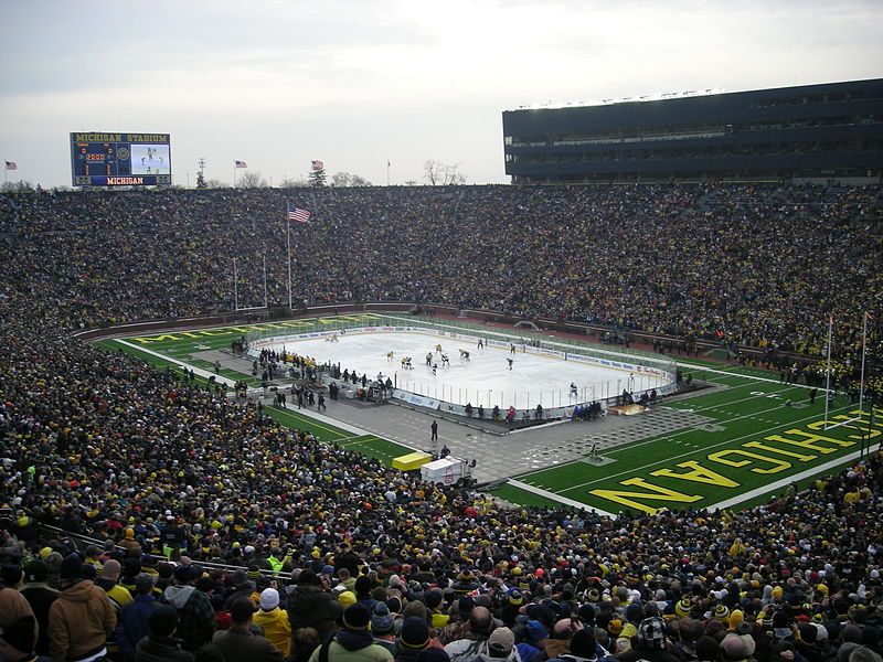 List of ice hockey games with highest attendance