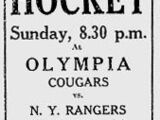 1929–30 Detroit Cougars season