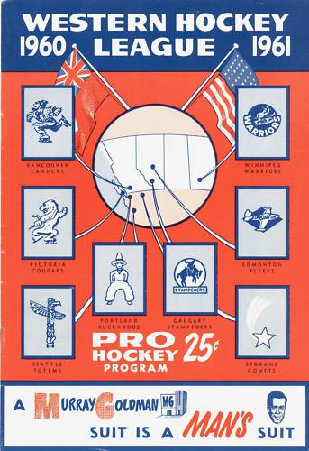 1960-61 WHL (minor pro) Season