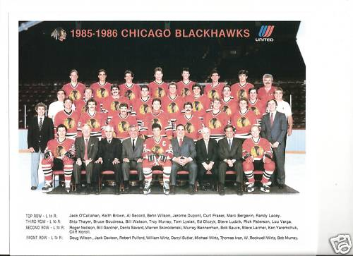 1985–86 Chicago Black Hawks season