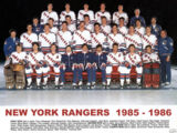 1985–86 New York Rangers season