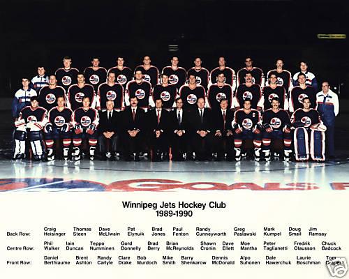 1989–90 Winnipeg Jets season