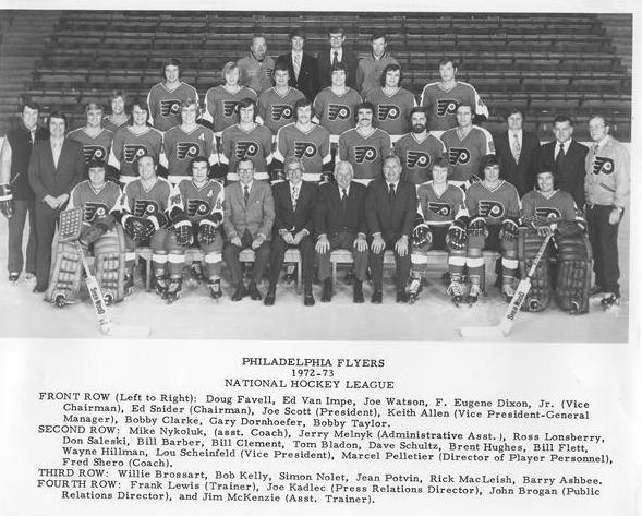 1972–73 Philadelphia Flyers season
