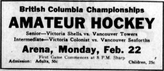 1925-26 British Columbia Intermediate Playoffs