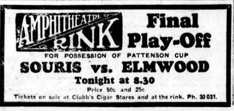 1929-30 Manitoba Senior Playoffs