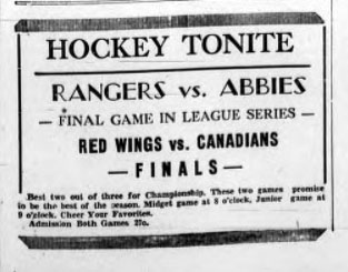 1936-37 Prince Edward Island Junior playoffs
