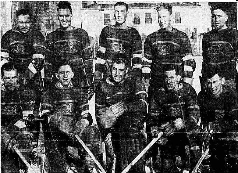 1941-42 Winnipeg Active Services Hockey League Season