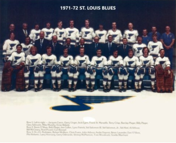1971–72 St. Louis Blues season