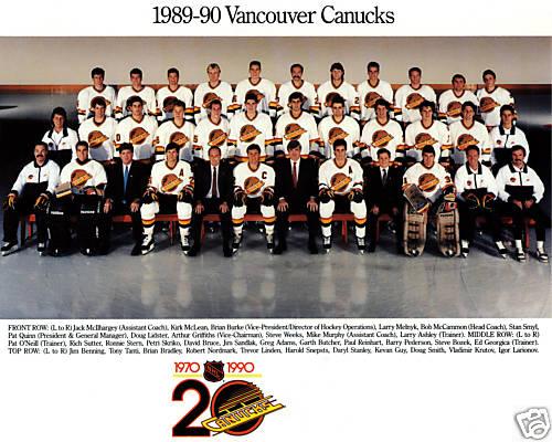 1989–90 Vancouver Canucks season