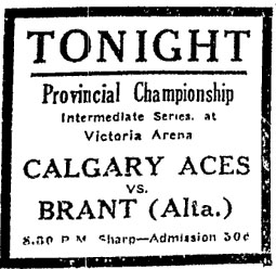 1929-30 Alberta Intermediate Playoffs