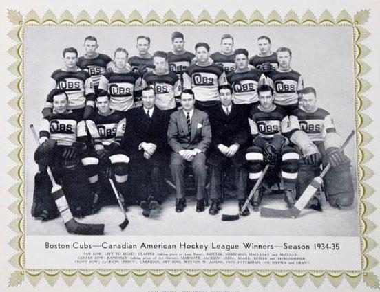 1934-35 Canadian-American Hockey League season