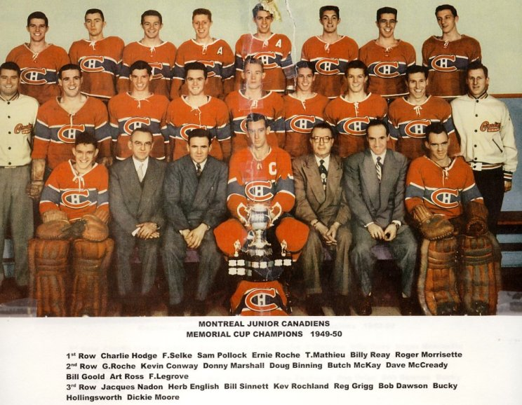 1949-50 Memorial Cup Final