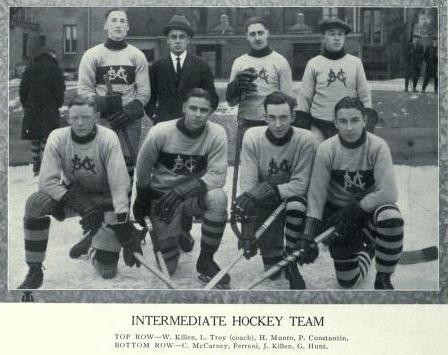 1921-22 Intermediate Intercollegiate