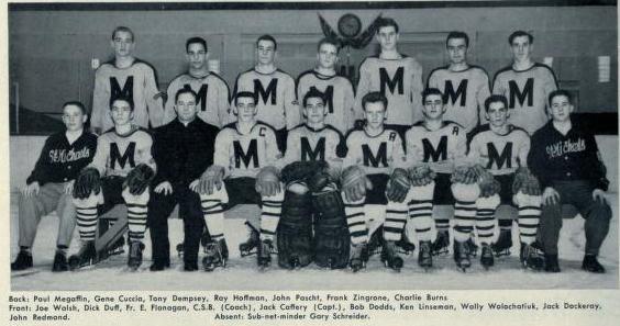 MetJHL Standings 1951-52