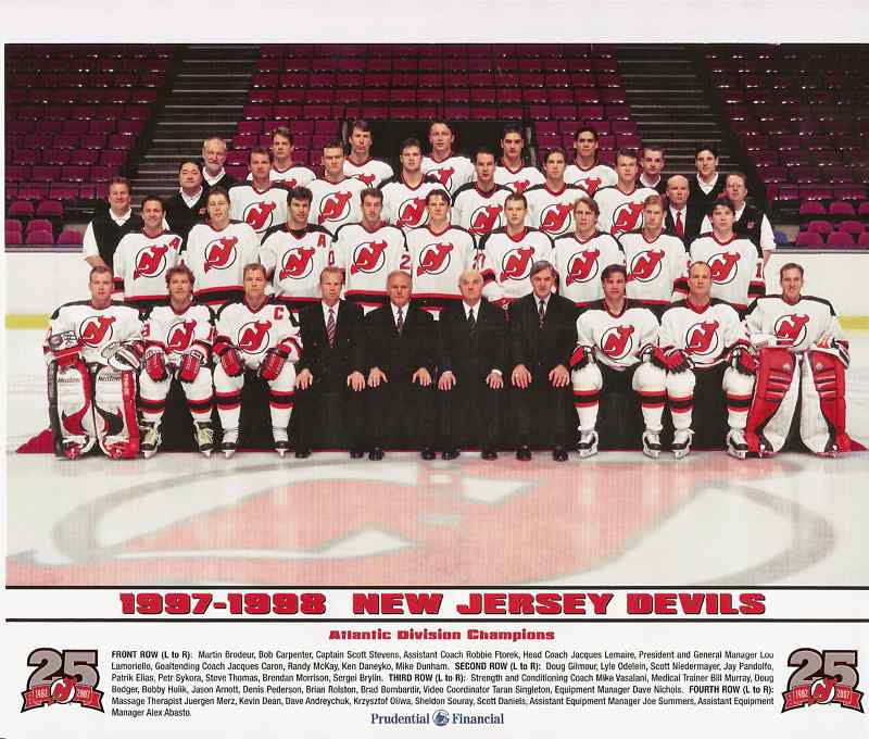 1997–98 New Jersey Devils season