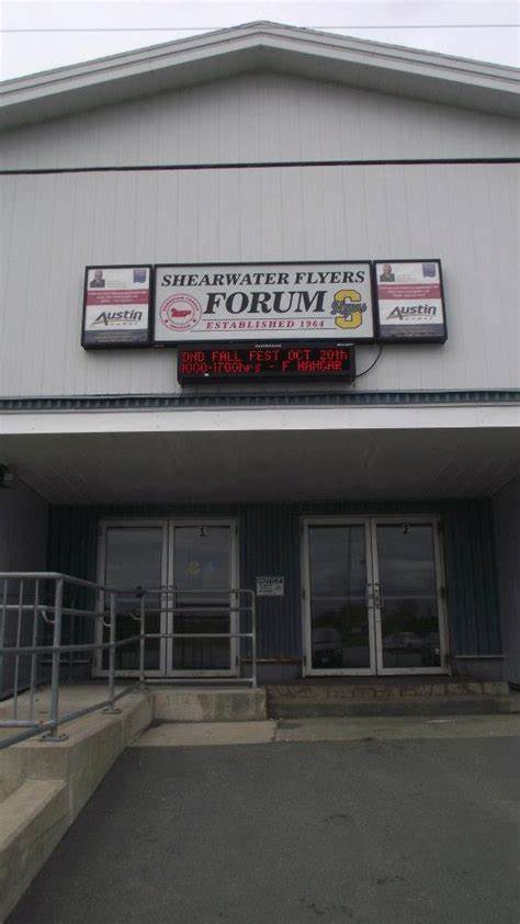 Shearwater Flyers Arena