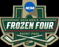 2018 Frozen Four logo