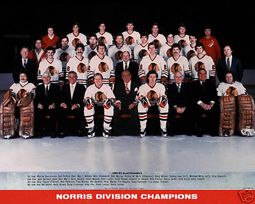 1982–83 Chicago Black Hawks season
