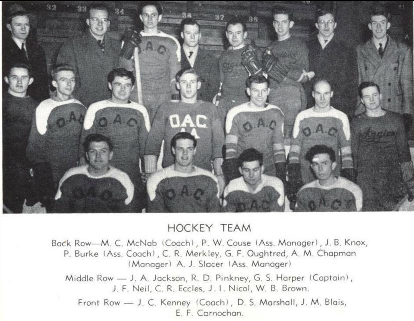 1944-45 OHA Intermediate Groups