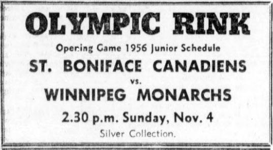 1956-57 MJHL Season