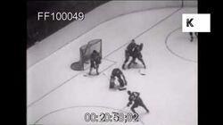 Toronto Ice Hockey Match, 1949