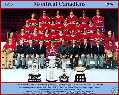 1975–76 Montreal Canadiens season