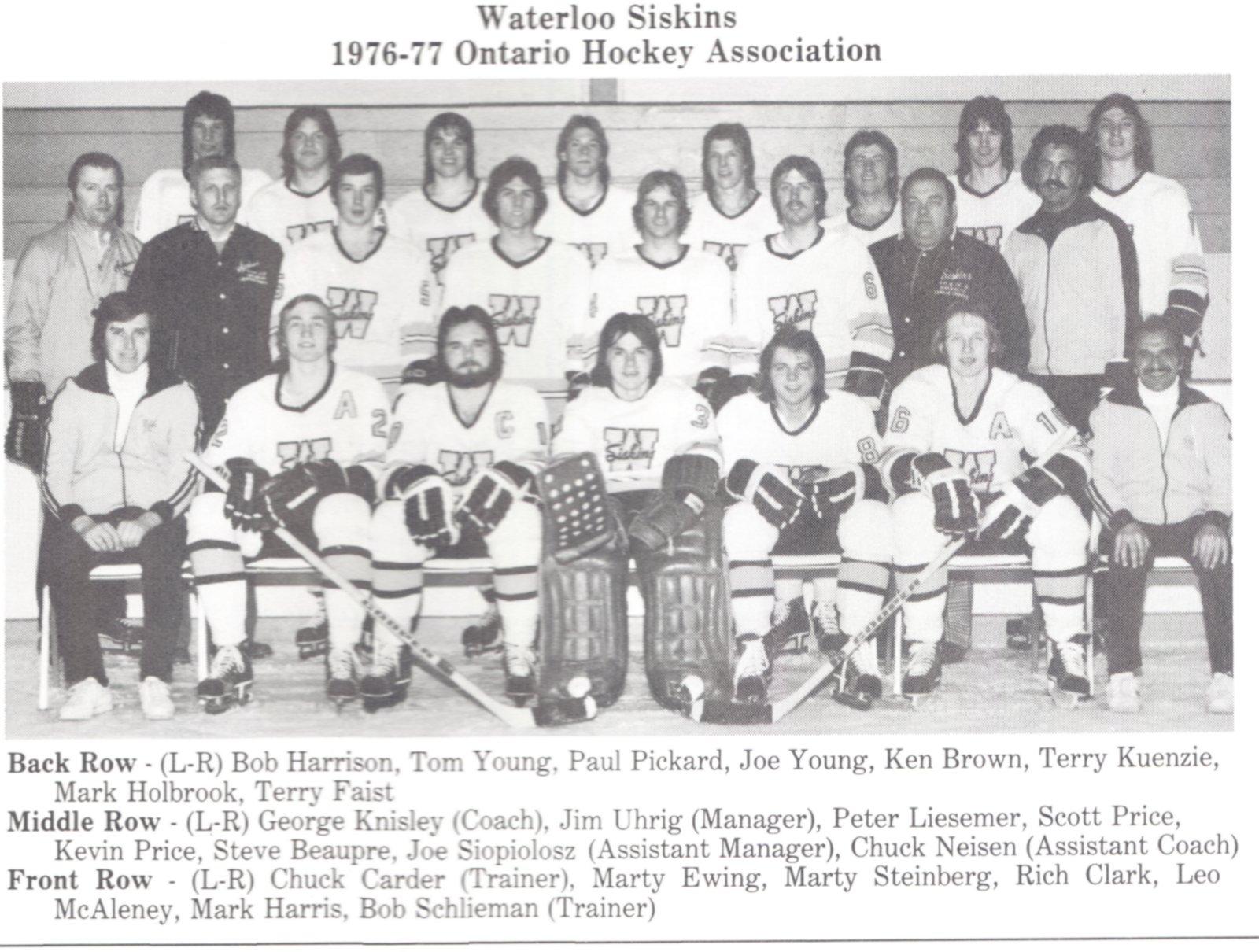 1976-77 WWJHL Season
