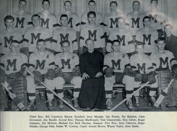 MetJHL Standings 1958-59