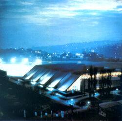 Olympic Hall Zetra Sarajevo