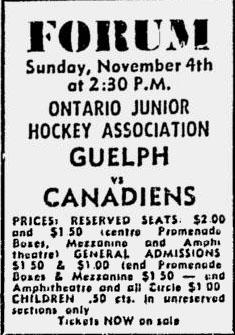 1962-63 OHA Junior A Season