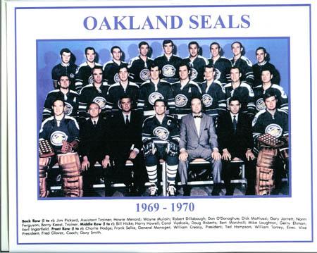 1969–70 Oakland Seals season