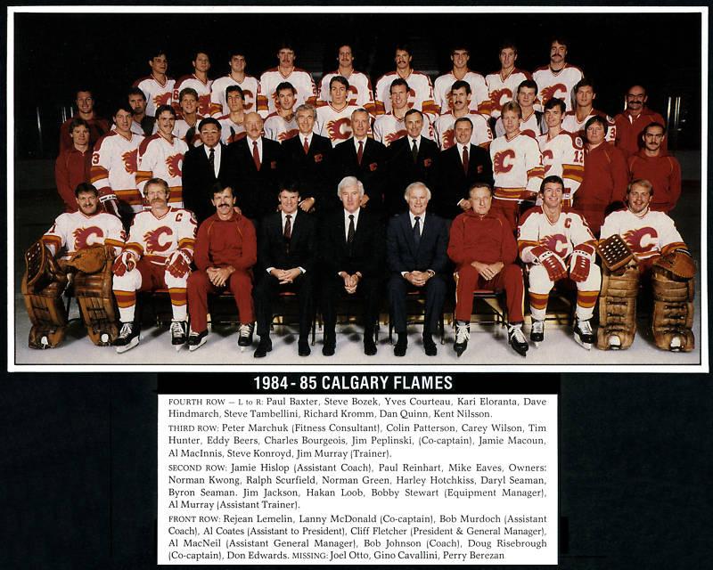 1984–85 Calgary Flames season