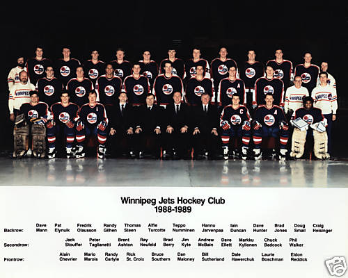 1988–89 Winnipeg Jets season