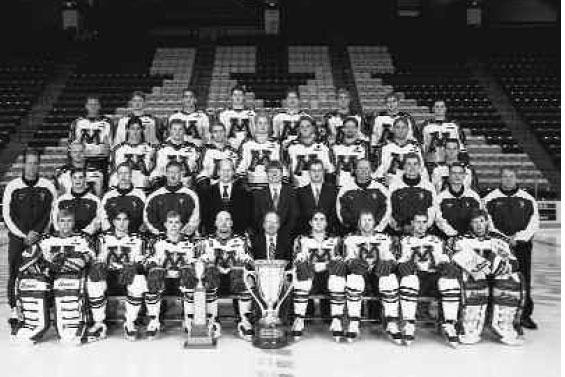 1996–97 NCAA Division I men's ice hockey season
