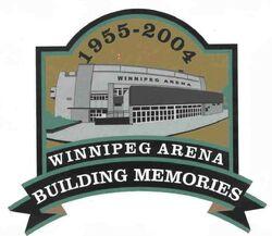 Winnipeg Arena commemorative patch