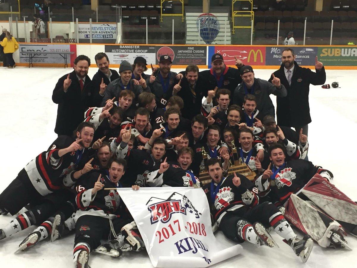 2017-18 KIJHL Season