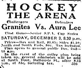 1921 SPA Senior Tournament