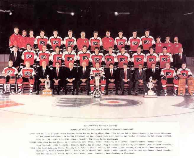 1985–86 Philadelphia Flyers season