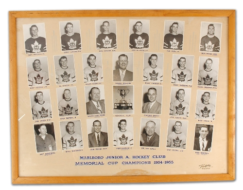 1954-55 Eastern Canada Memorial Cup Playoffs