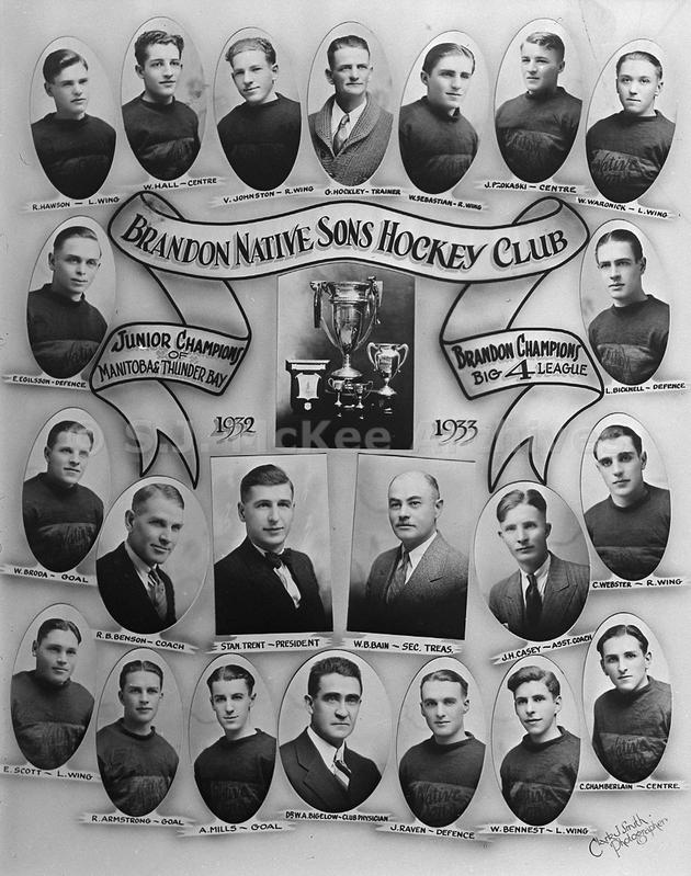 1932-33 Western Canada Memorial Cup Playoffs