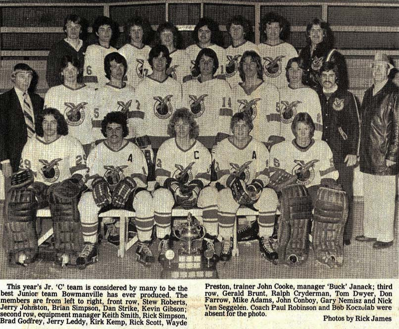 1979 Clarence Schmalz Cup