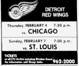1981–82 Detroit Red Wings season