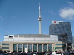 ACC on Bay St and CN Tower.JPG