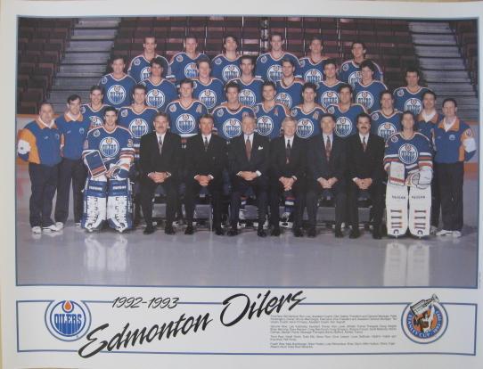 1992–93 Edmonton Oilers season