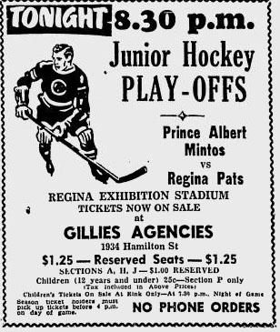1950-51 Western Canada Memorial Cup Playoffs