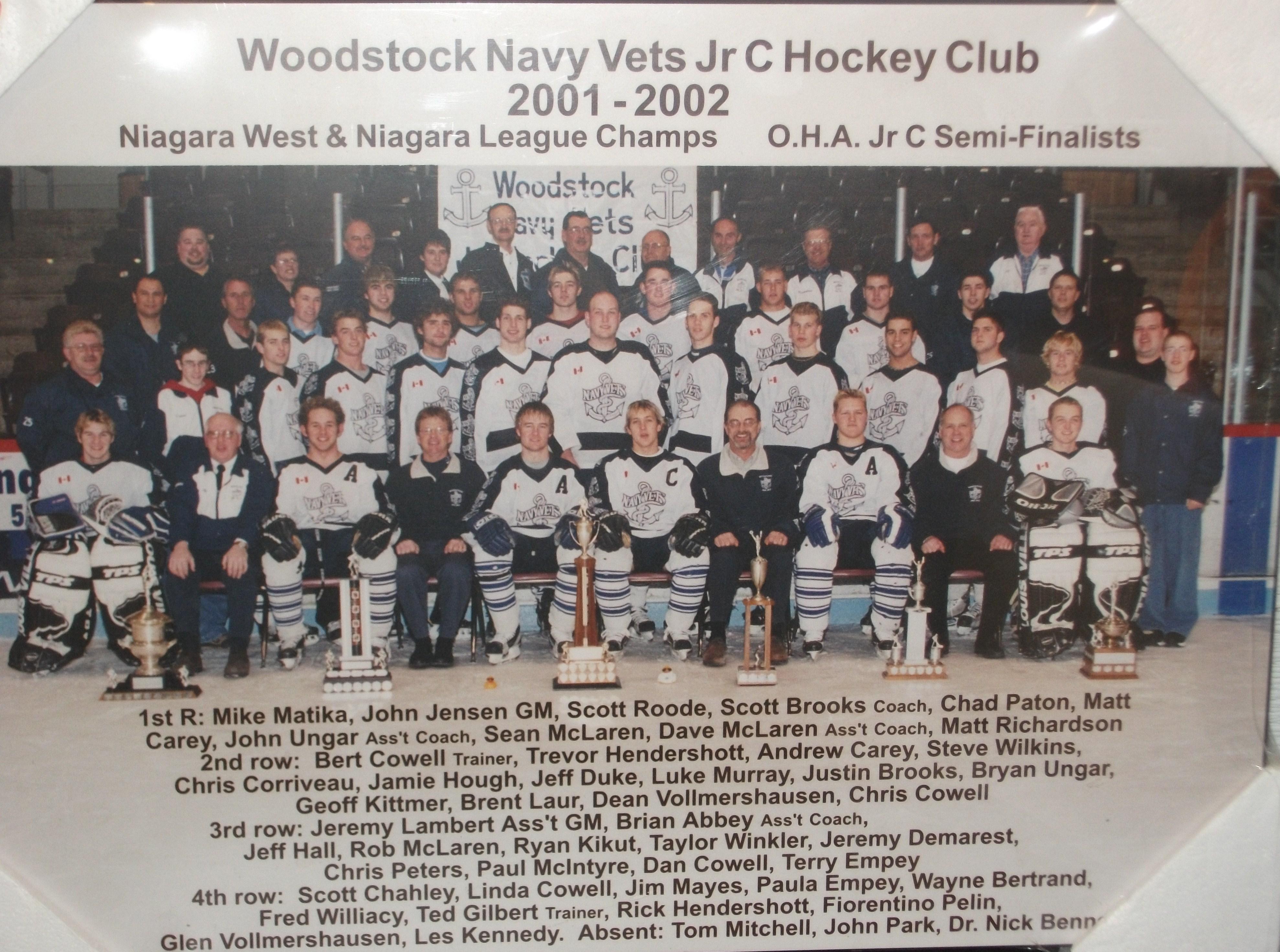 2001-02 NDJCHL Season