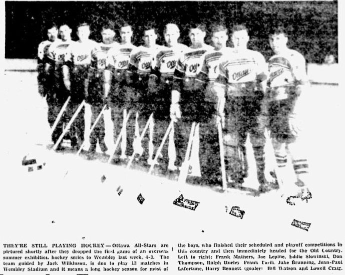 1946-47 Ottawa All-Stars