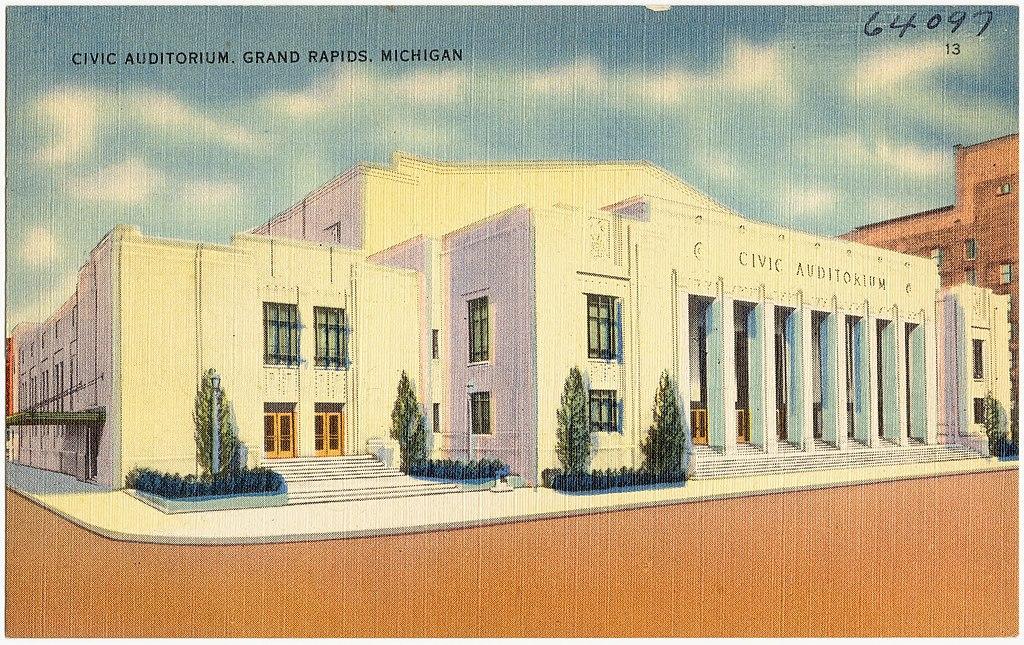 Grand Rapids Civic Auditorium